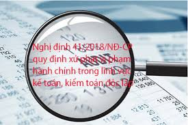 Luật kế toán - Những quy định xử phạt vi phạm hành chính kế toán mới nhất