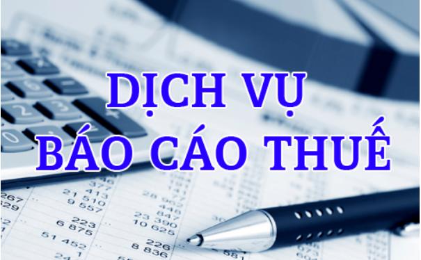 Dịch Vụ Báo Cáo Thuế Hàng Tháng