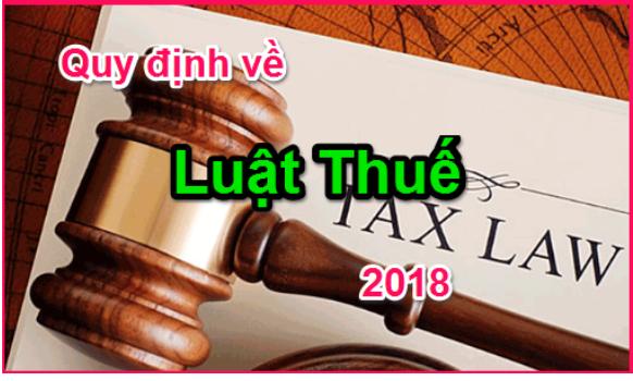 Luật Thuế Xuất Nhập Khẩu Mới Nhất