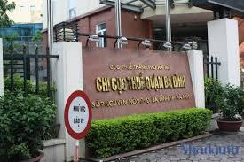 Mẫu công văn xin xác nhận không nợ thuế tại Chi cục thuế Ba Đình